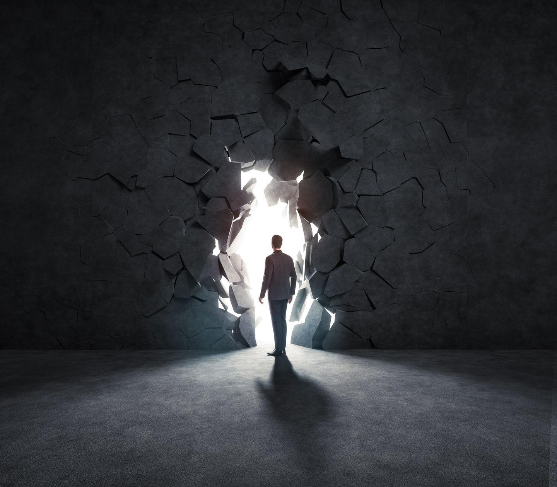 А это стена, которая Божий народ разрушает, которую построил… сатана.
