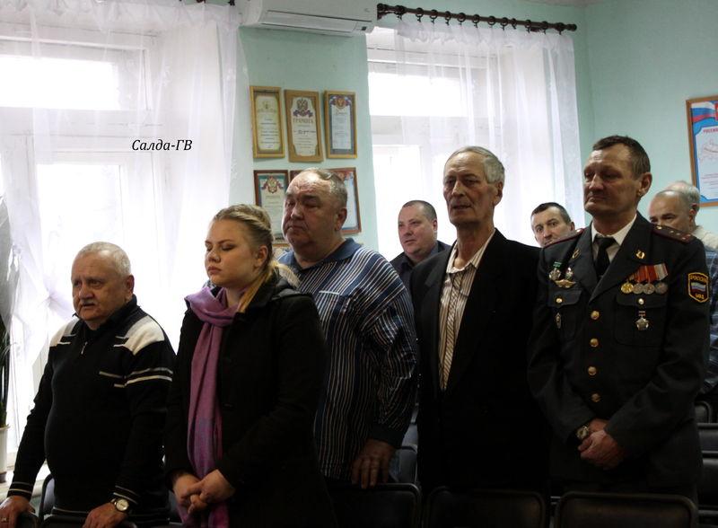 В Свердловской области верующие провели концерт для ветеранов МВД