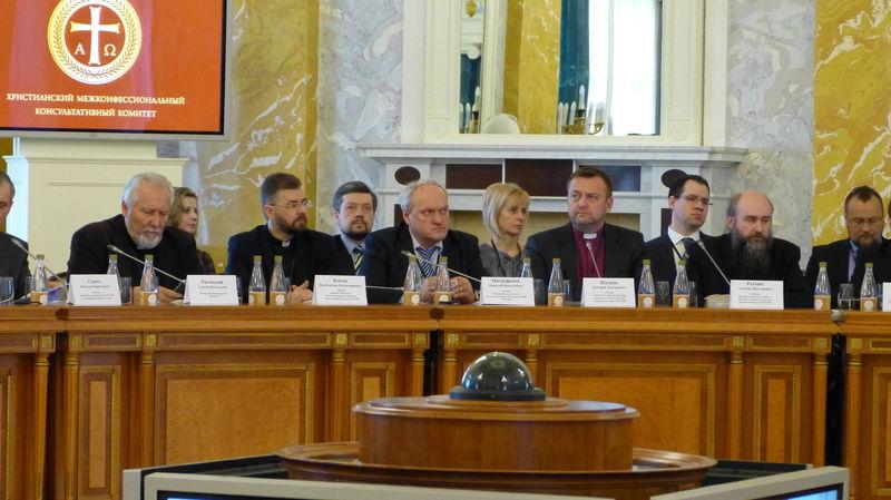 Представительная делегация РОСХВЕ участвует в Пленуме ХМКК «Вера и преодоление гражданского противостояния: итоги столетия»
