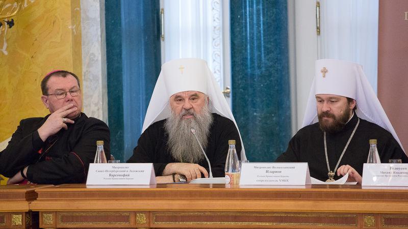 Приветствия V Пленуму ХМКК направили Президент РФ, Патриарх, а также другие государственные деятели и священнослужители