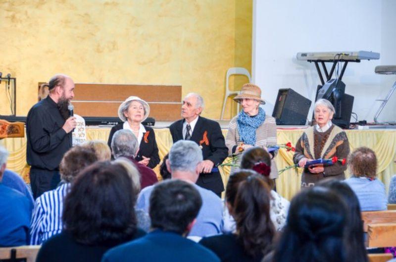 Прихожане церкви «Слово Жизни» г. Калуга приняли участие в акции «Свеча Жизни»