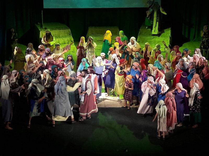 В Улан-Удэ спектакль об Иисусе Христе собрал порядка тысячи зрителей