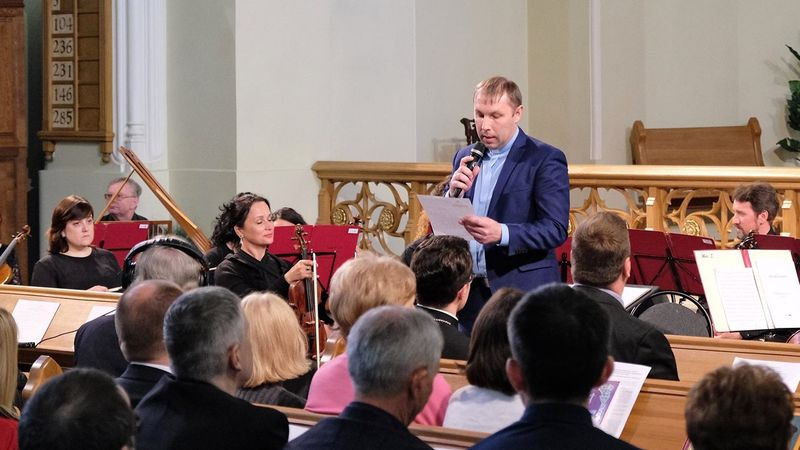 Открытие Межконфессиональной научно-практической конференции «500 лет Реформации»