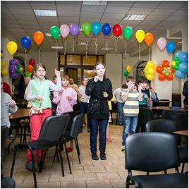 Фоторепортаж о детском празднике «Слёт друзей»