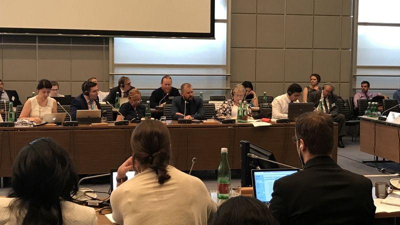 Епископ Константин Бендас рассказал на встрече в ОБСЕ о важности горизонтальных связей между конфессиями