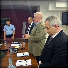 Встреча Председателя РС ЕХБ с христианами-предпринимателями
