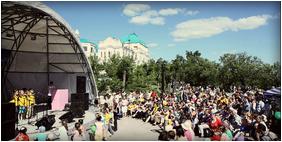 «Ребенку нужны мама и папа!» - заявили две тысячи участников марша в Хабаровске