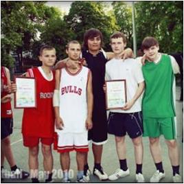 Уличный баскетбол – альтернатива вредным привычкам