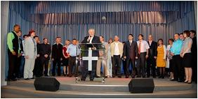 На юбилее церкви «Источник жизни» съели самый большой торт в г.Сыктывкаре