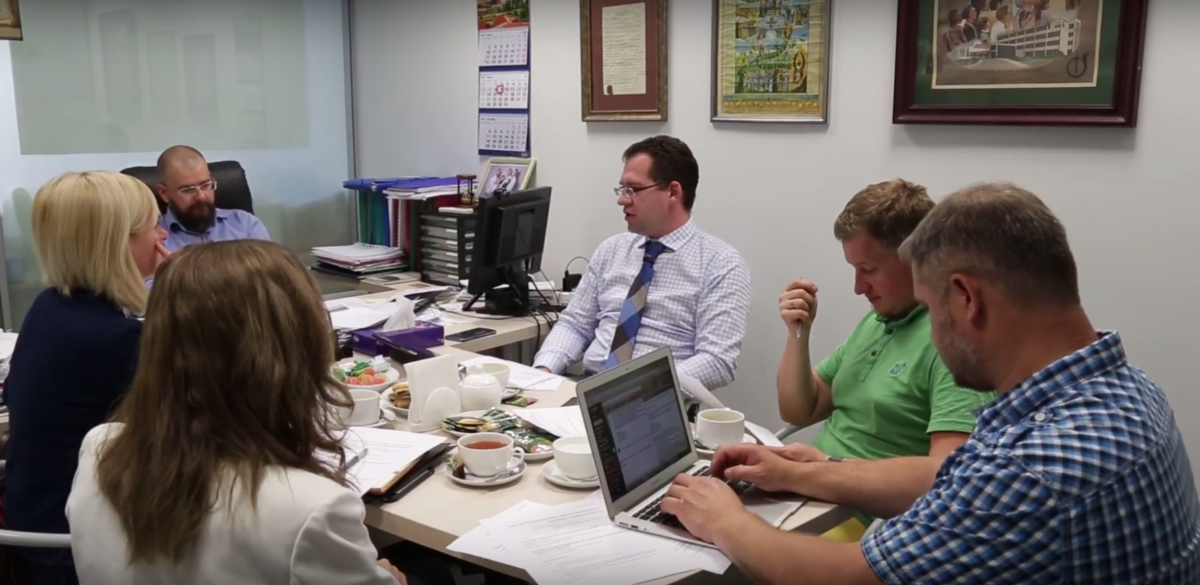 В офисе РОСХВЕ прошла встреча рабочей группы по подготовке Малого Собора РОСХВЕ – 2017
