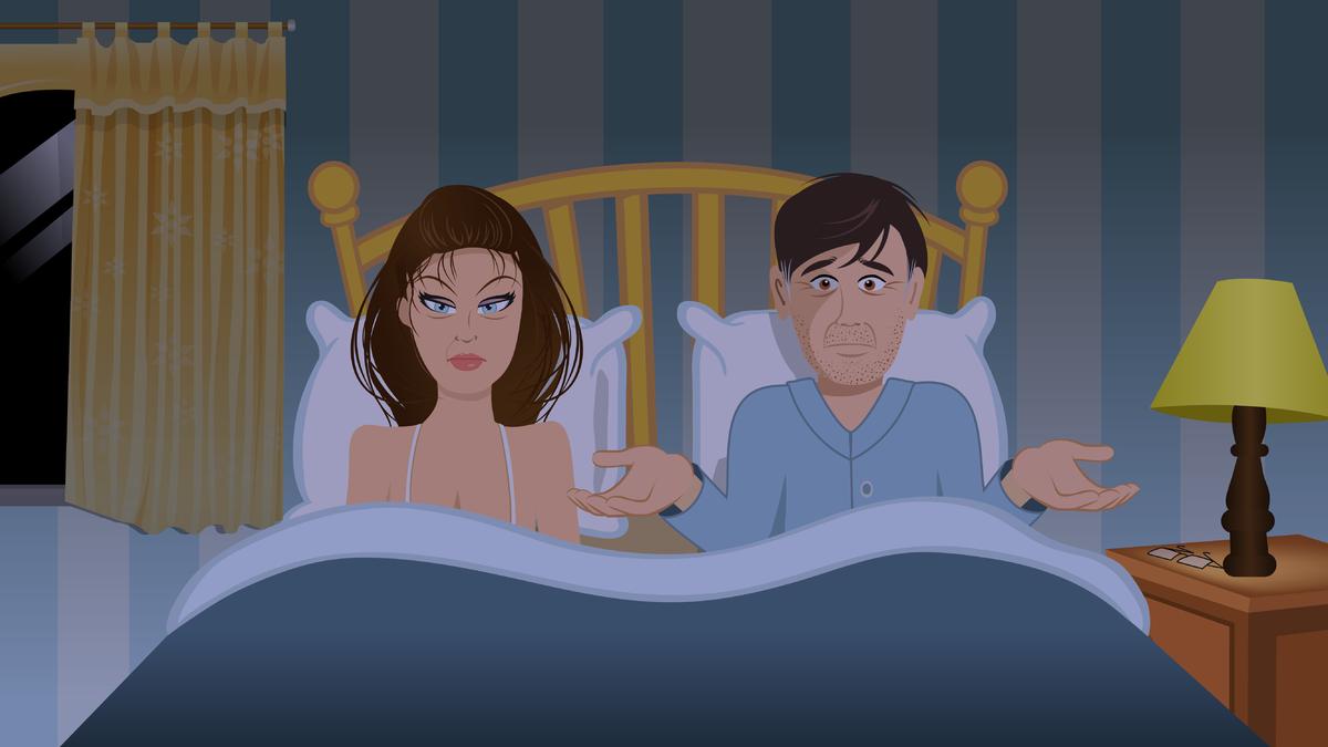 Муж и жена занимаются сексом это грех