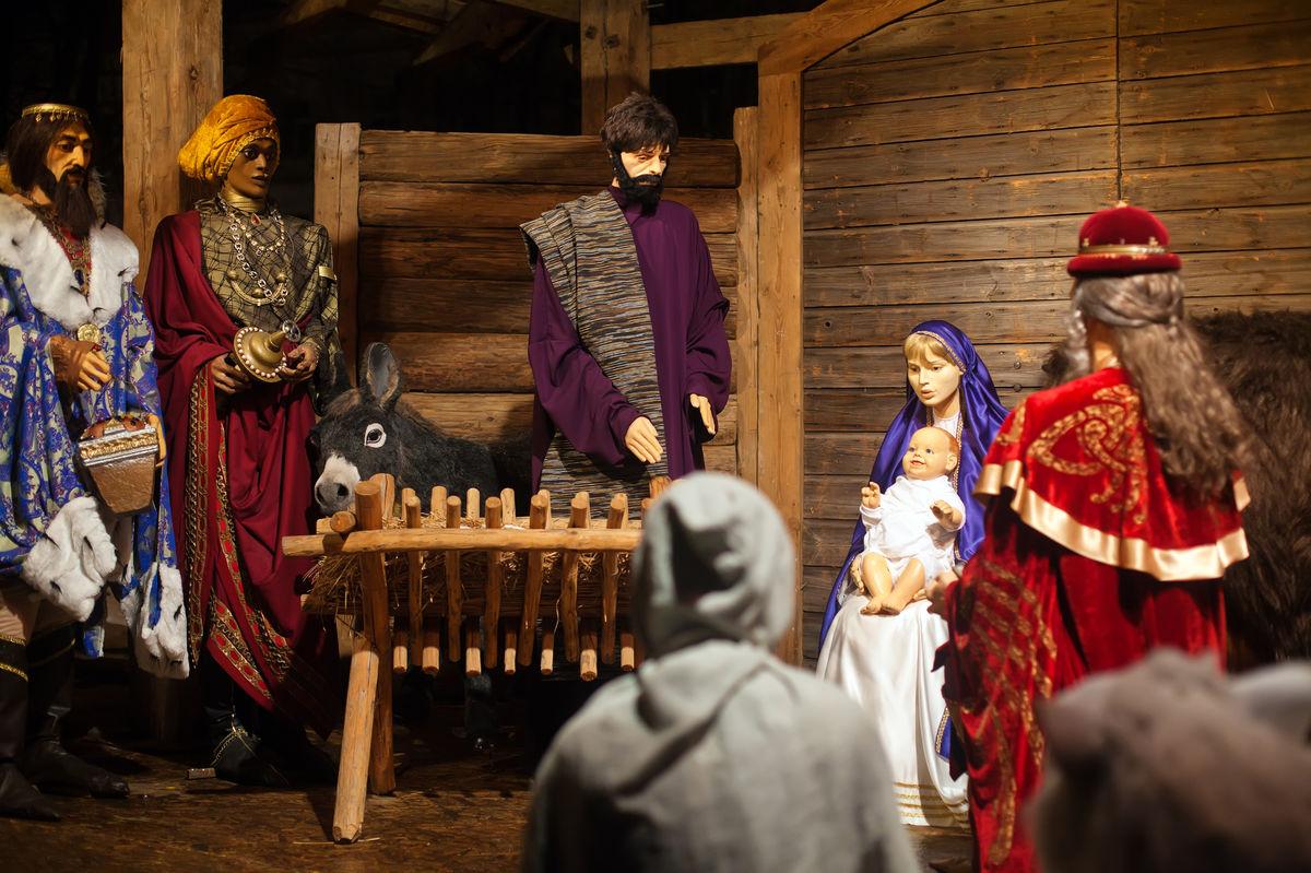 Иисус не родился в хлеву