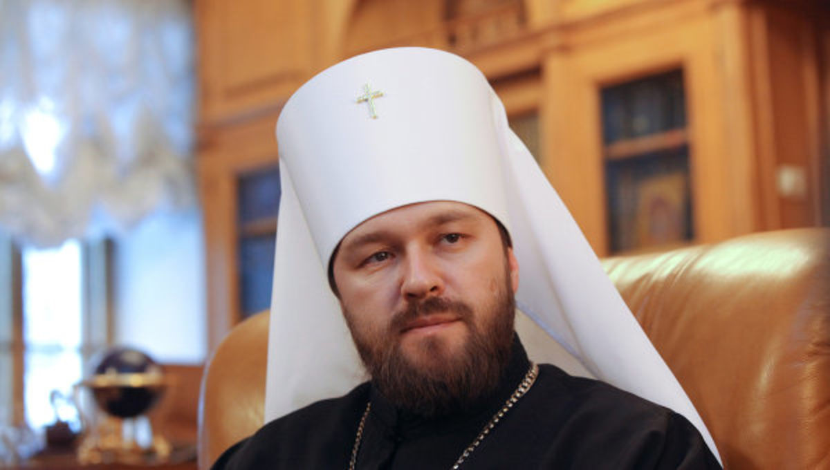 Митрополит Иларион читает курс лекций о Церкви в светском вузе