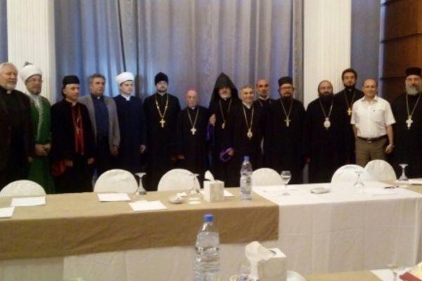 Епископ Сергей Ряховский встретился с генеральным секретарем Национального Евангельского Синода Сирии и Ливана