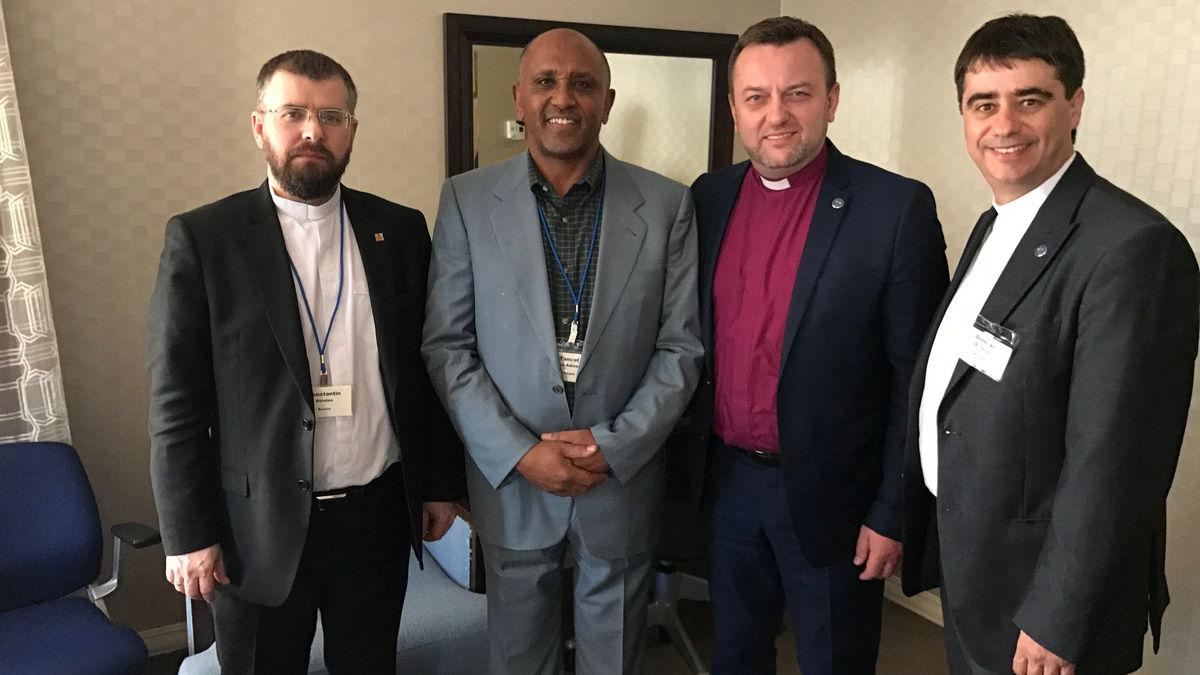 Епископ Дмитрий Благоев рассказал о выступлении бывшего вице-президента Эфиопии