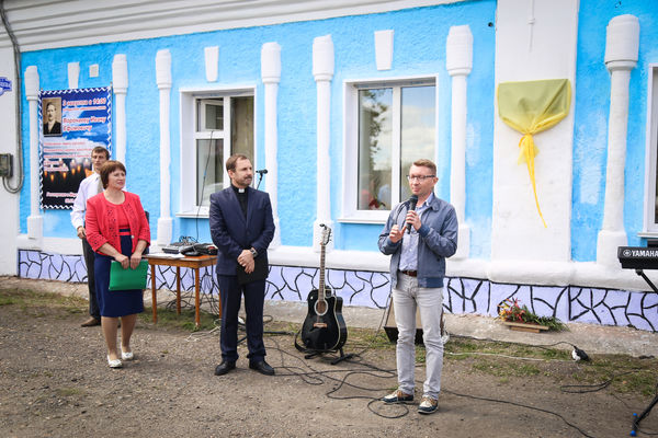 Памятный знак Ивану Воронаеву открыт в Мариинске