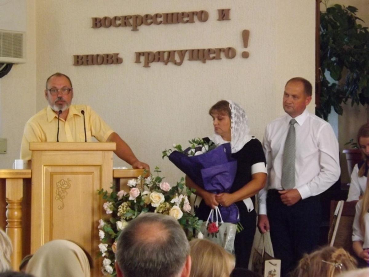 Рукоположение пастора в станице Гостагаевской, Краснодарского края
