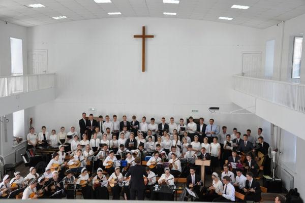 Праздник евангельской музыки в Тамбове