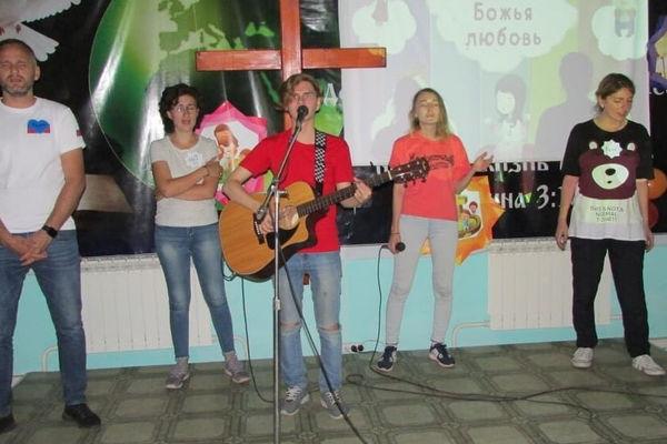 В Мариинске впервые прошла детская конференция «Глория»