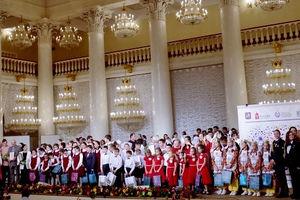 Детский коллектив церкви РОСХВЕ выступил на Фестивале народных и религиозных хоров
