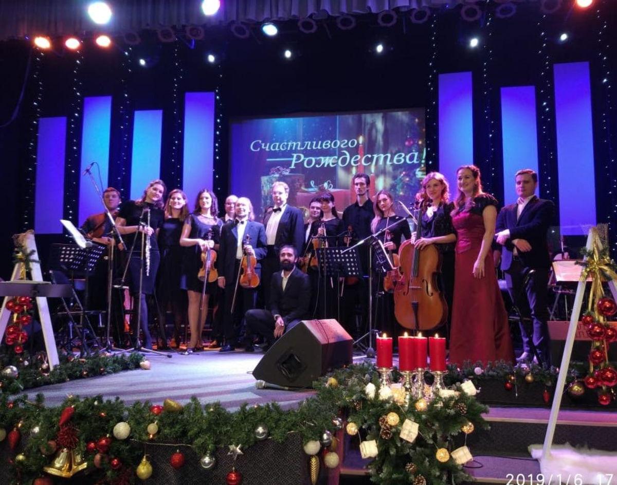 В Москве состоялся Рождественский концерт классической музыки