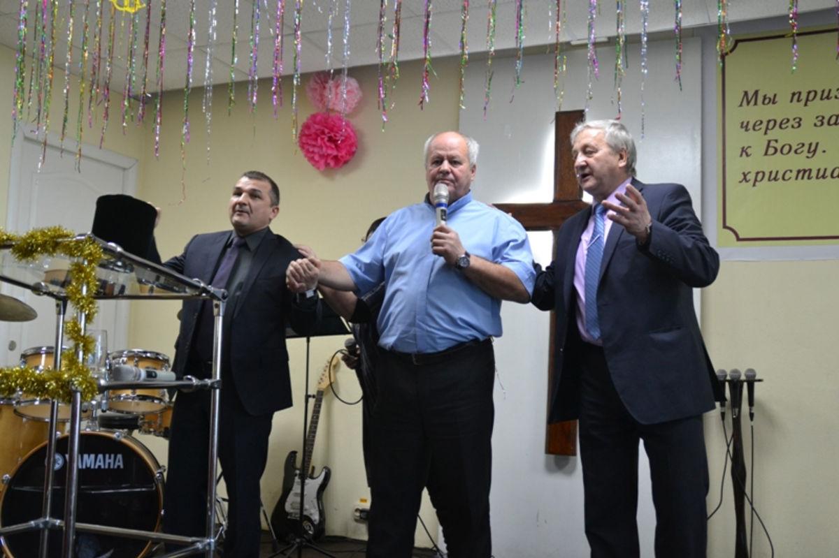 Евангельские церкви Белогорска провели совместное Рождественское богослужение