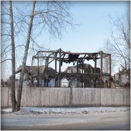 Пожар в Шелеховской  церкви ЕХБ, Иркутской области