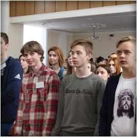 Молодые лидеры, стремящиеся к цели