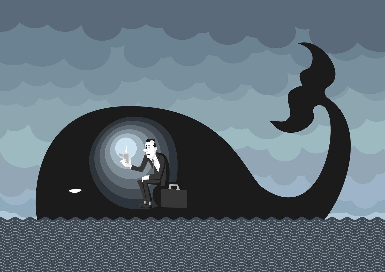 Когда ты находишься в чреве кита