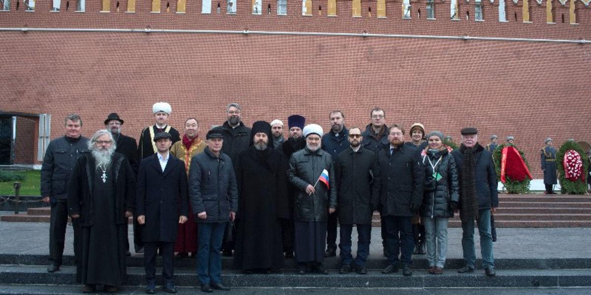 Религиозные деятели Москвы приняли участие в торжественных мероприятиях по случаю празднования 78-й годовщины военного парада 1941 года